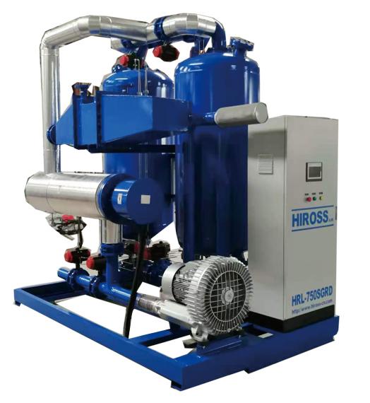 零耗气鼓风再生吸附式干燥机